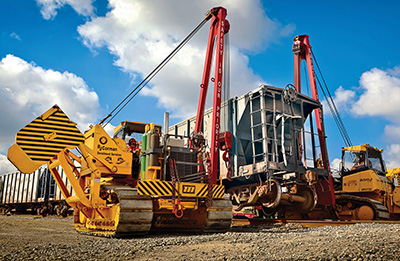 Railroad Recovery - Midwestern Manufacturing & Pipe Line Products